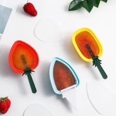 水果带盖DIY冰棒雪糕模具--红色草莓 小礼品价位低便于携带有哪些