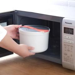 微波炉蒸饭煲 双层热汤煮饭盒--靓丽橙 30元以内的礼品