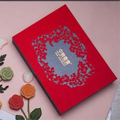 中糧香雪 花之物語月餅禮盒 抹茶蜜豆海派奶黃禮盒套裝 中秋節禮品方案