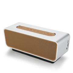便携式HIFI蓝牙音箱 铝合金重低音炮 迷你家用车载音响 E100 年会节目礼品 过年送什么礼品