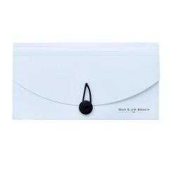 创意文具 黑白系列票据包 票据收纳 迷你资料包 宣传用小礼品