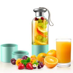 幻响(i-mu)汁道电动榨汁机迷你便携榨汁杯充电式小型果汁机套装