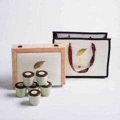 【金枝玉叶】高档德化陶瓷密封茶叶罐 四色可选 商务会议纪念礼品