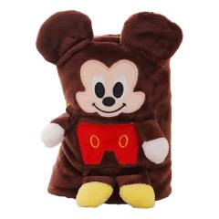 【米老鼠】卡通空调毯 可以机洗的毛毯 四季可用小毛毯 又大又便宜的活动礼品