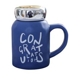 congratulations 英文字母创意陶瓷马克杯 商务伴手礼一般送什么