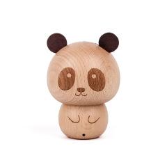 MUSOR 创意卡通实木蓝牙音响复古木质音箱 年会上送什么礼品给员工