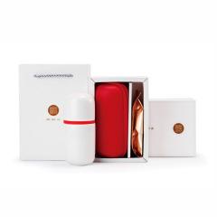 【同心茶礼】时尚茶具茶叶组合套装 便携式旅行茶具+精选祁门红茶套装 创意精选茶礼