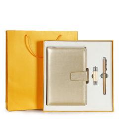 【U盘32G版本】送客户小礼品可定制商务记事本笔套装 企业促销会议展会创意纪念品