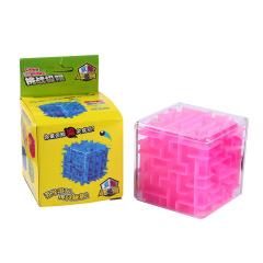 益智游戏 六面闯关迷宫 创意走珠玩具 3-6岁儿童礼物 现场小礼品