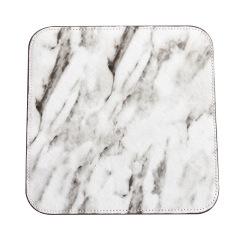 时尚大理石花纹鼠标垫 加厚鹿皮绒皮垫 创意商务礼品