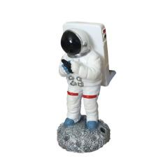 创意造型太空人手机支架  宇航员树脂材质 最有创意的礼品