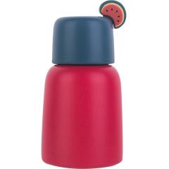 水果派时尚小巧保温杯250ML 迷你口袋杯 创意大肚杯定制