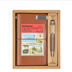 笔记本套装创意礼品随身手账记事本 年会定制礼品