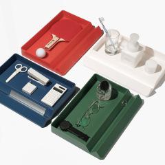 STORAGE ISLAND收納島 多功能置物收納盒 辦公桌面化妝品首飾收納盒 企業宣傳創意禮品