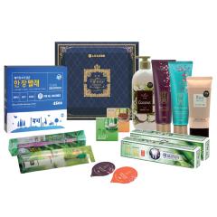 LG生活健康  韩国进口13件套D 日用品礼盒 福利礼盒 春季送什么礼品比较合适
