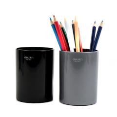 得力(deli)大气简约商务笔筒 办公桌面收纳礼品定制 公司活动发什么礼品