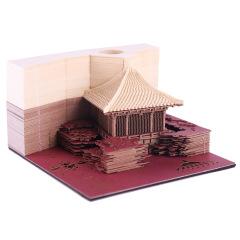【中國拱亭】3D立體便簽本 立體景觀可撕便簽 創意年會禮品