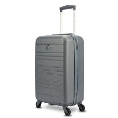 DELSEY法国大使 菱形印花拉杆箱万向轮20寸行李箱 安全防盗行李箱  年终活动奖品 年会什么礼品好