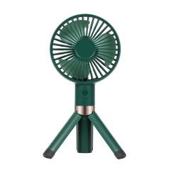 手持三角架风扇轻巧便携可站立的风扇桌面USB充电风扇 营销送什么礼品