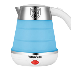 龙的(longde)折叠电热水壶压便捷迷你旅行水壶  年会客户礼品