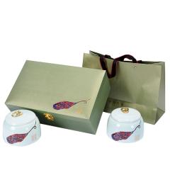 【岁月传承】三色礼盒复古茶叶罐 茶礼定制