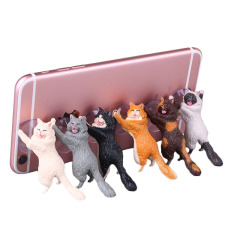 创意可爱小猫手机支架 实用小赠品