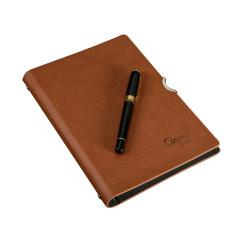 colour商务皮面创意定制活页日记本笔记本记事本本子办公用品文具定制 客户小礼物定制