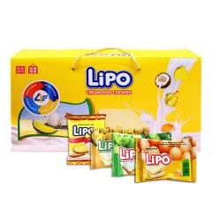 【京東伙伴計劃—僅限積分兌換】越南進口 利葡(Lipo)面包干禮盒1KG