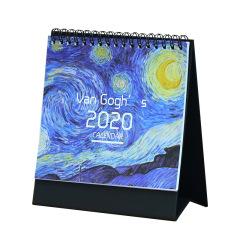 2020年精致插畫臺歷日歷 優質紙張書寫順暢 拓展小禮品