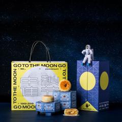 【GO TO THE MOON】追月者中秋礼盒 创意设计月饼礼盒套装