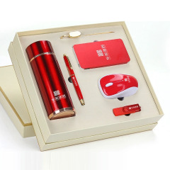 實用辦公六件套禮盒套裝 精簡時尚工藝 年會禮品定制