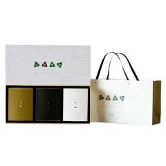 心粽有你·端午礼盒 创意设计便携陶瓷茶具一壶二杯+龙井肉粽+白茶组合礼盒 商务礼品 端午节礼品