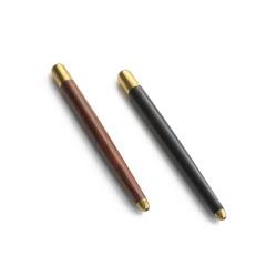 【与你书写生活的玄机】玄笔 紫光檀/微凹黄檀 复古设计檀木黄铜中性笔 礼品定制