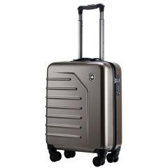 瑞士维氏 Victorinox 斯派克系列20寸古铜色 展开式带轮直立拉杆箱 登机箱 旅行箱 商务礼品