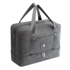 防水衣物收纳包 运动健身必备干湿分离包 便携运动包 促销活动礼品