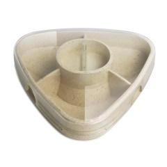 小麦秸秆药盒便携随身迷你药盒