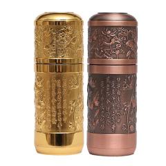 浮雕系列纯银内胆保温杯 保健杯  实用上档次的商用礼品