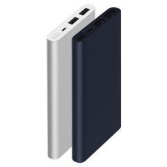 小米 充电宝移动电源2双USB接口  超薄便携大容量10000 毫安 迷你充电宝 金融展会应该送什么礼  实用型礼品
