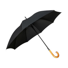 复古实木弯柄长直杆伞广告伞八骨加固高尔夫伞 客户礼品方案