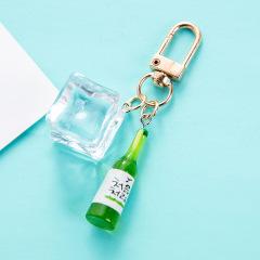 【小酒瓶】钥匙扣包包汽车挂件 啤酒音乐节赠品