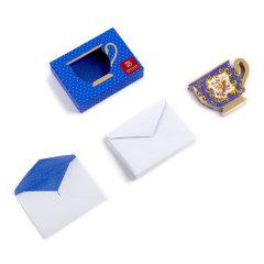 【大都會藝術博物館】美國19世紀法式茶杯留言紙  辦公禮品 禮盒套裝
