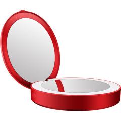 创意充电宝化妆镜LED灯化妆镜 创意礼品
