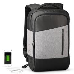 多功能USB接口充电背包 创新带吸盘 专业商务礼品