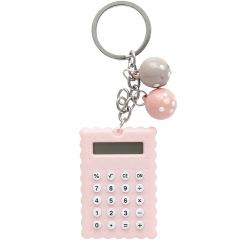 創意可愛餅干計算器 迷你鑰匙扣便攜計算器 隨手小禮品 創意文具禮品