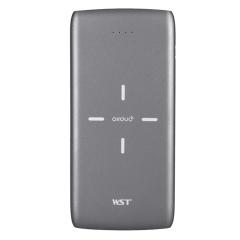 便携无线充电宝 大容量双USB输出商务充电宝10000毫安 商务办公礼品