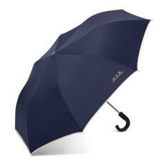 天堂傘 時尚商務加大兩折雨傘 半自動彎勾柄傘 商務小禮品