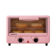 龍的(longde)迷你可愛粉電烤箱 烘焙達人必備 開業獎品