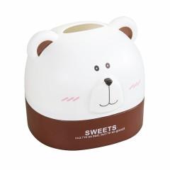 可爱小熊纸巾盒 创意卡通抽纸盒 桌面纸巾收纳盒 比赛奖品