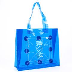 【来图定制】PVC手提袋定制/透明防水购物袋定做/镭射包袋定制