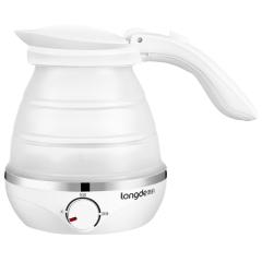 龙的(longde)折叠式旅行电热水壶便携保温自动断电  优秀员工奖品推荐